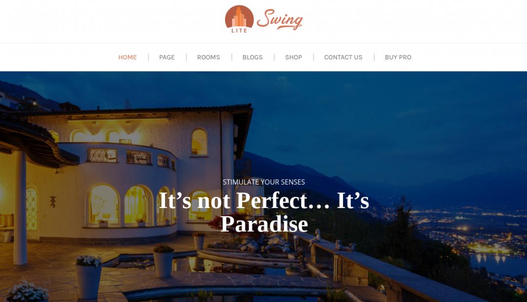 Swing Lite Hotel & Vakantie Theme